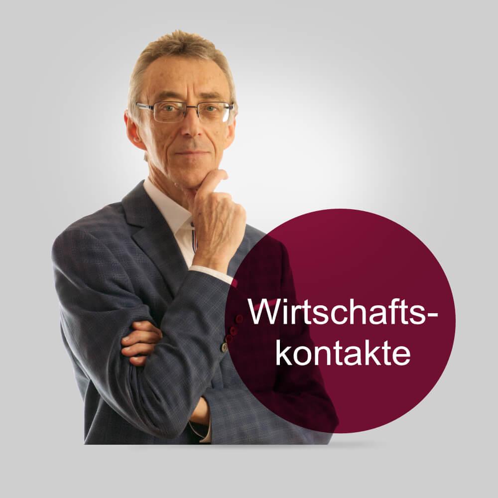 Webseite mit Newsletter für Peter Letsche Wirtschaftskontakte