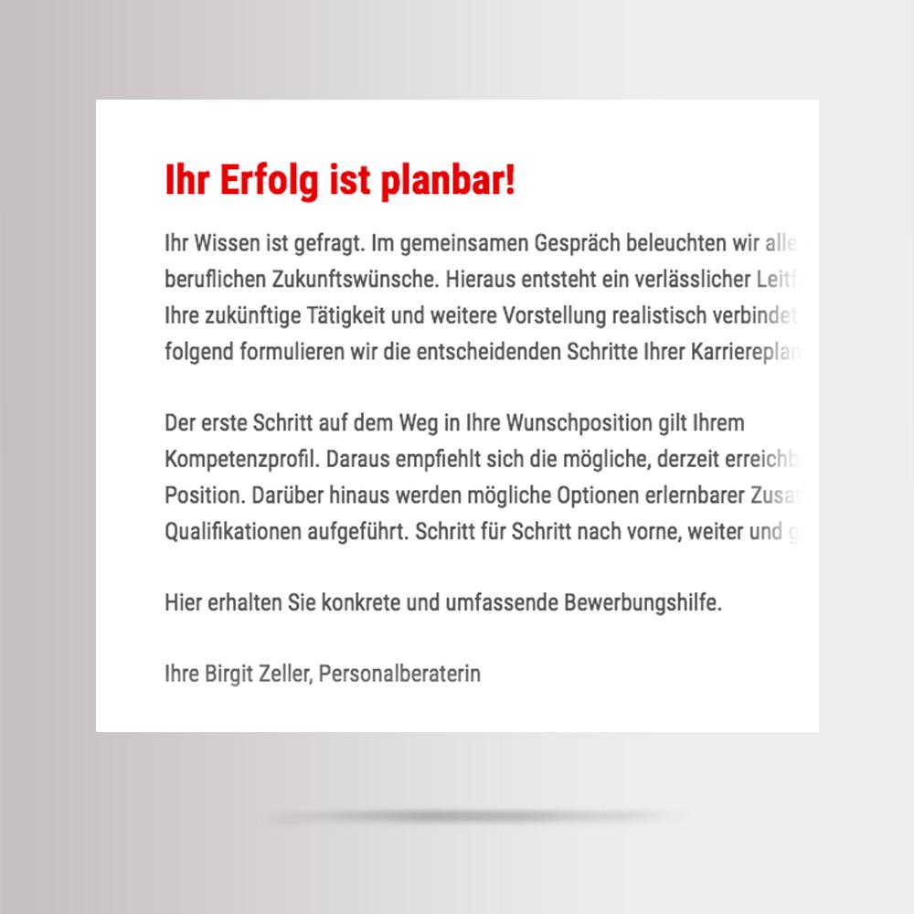Werbetexte erstellen für Webseite