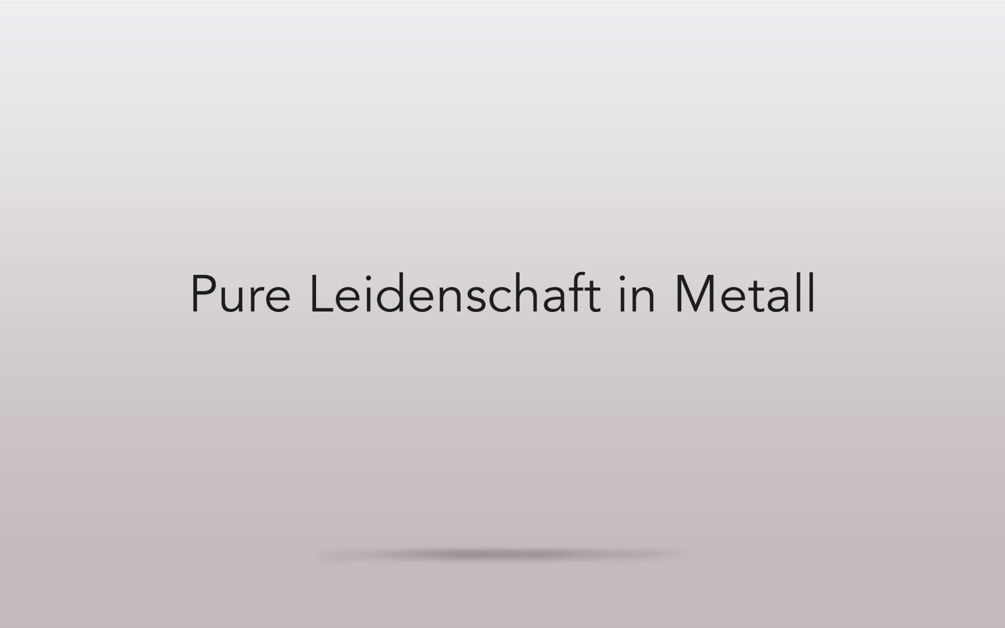 Metallbau Gienger - Slogan