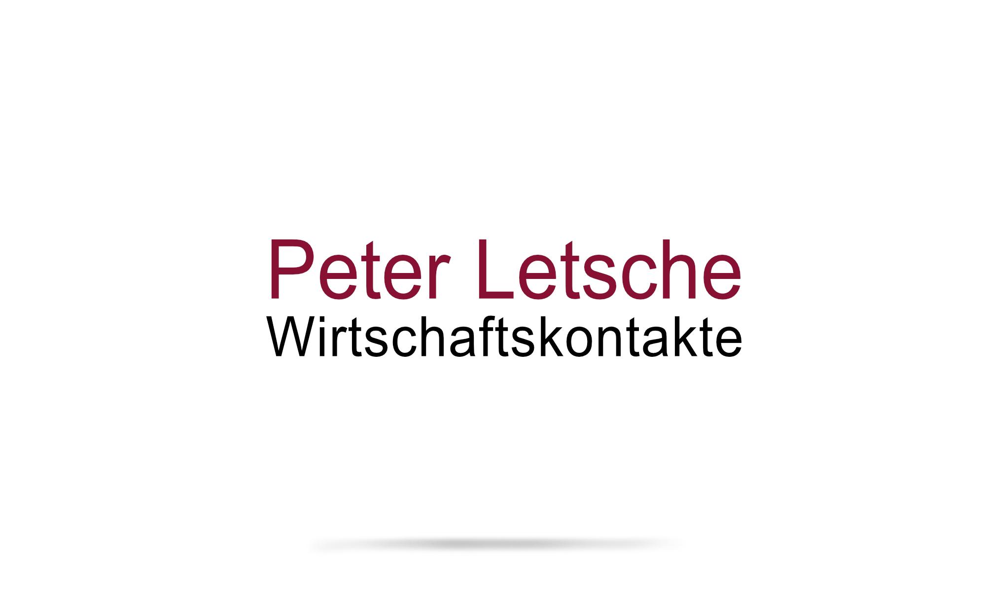 Corporate Design für Peter Letsche Wirtschaftskontakte
