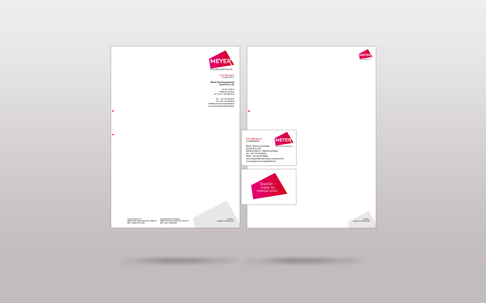 Portfolio Print - Meyer Steuerungstechnik