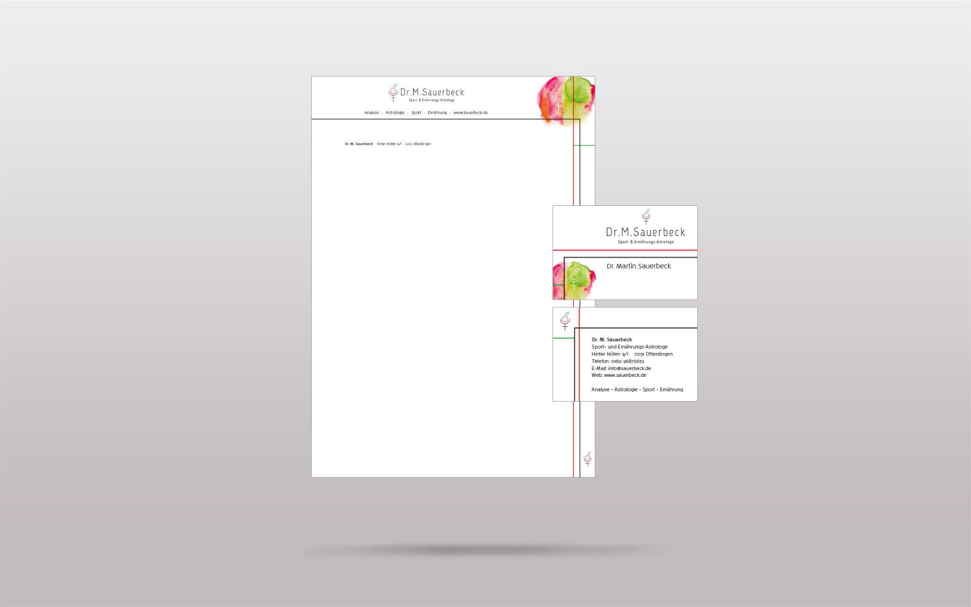 Portfolio Steinhilber Briefbogen