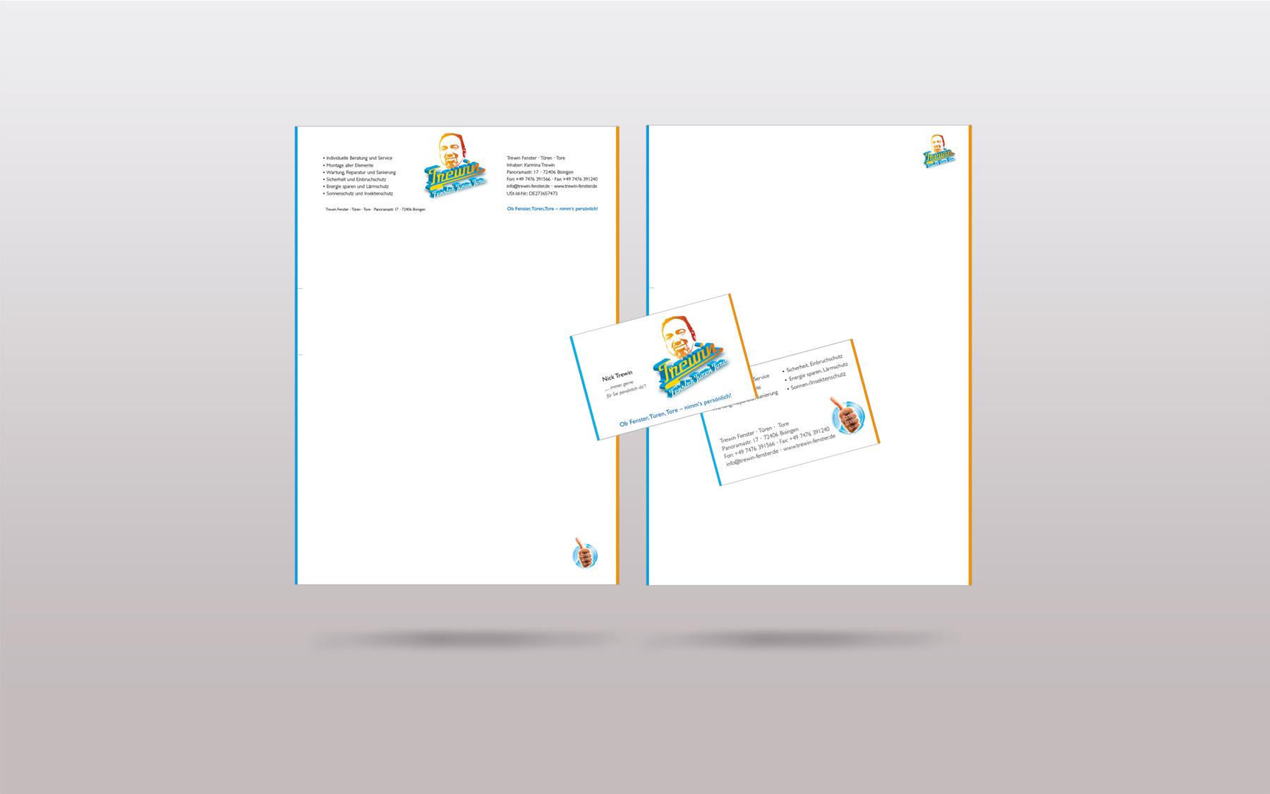 Grafik Design Print Trewin Briefbogen