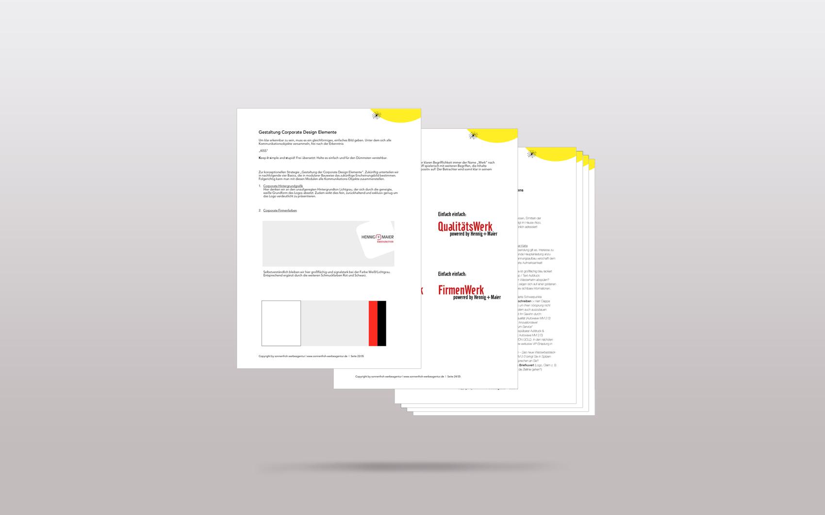 Portfolio Strategiefür Hennig Maier Elektrotechnik