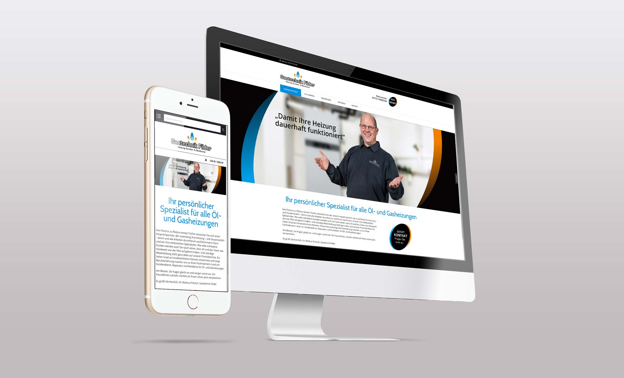 Web Fritzsch Corporate Design