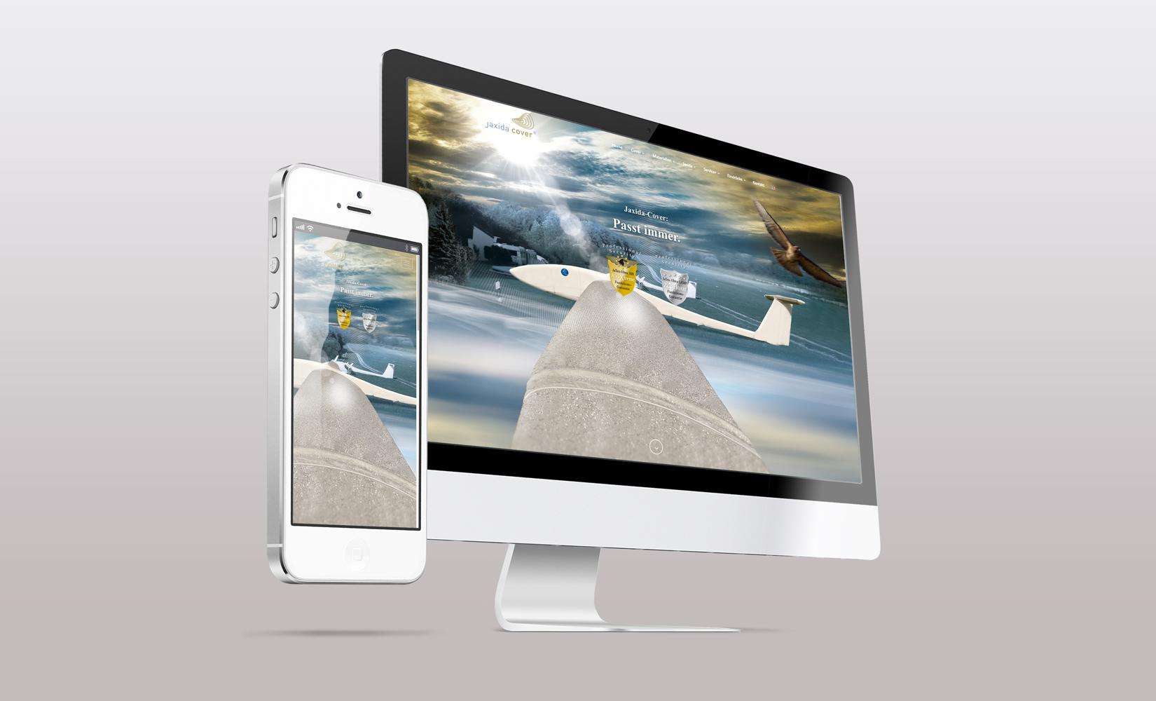 Portfolio Webdesign Jaxida Cover