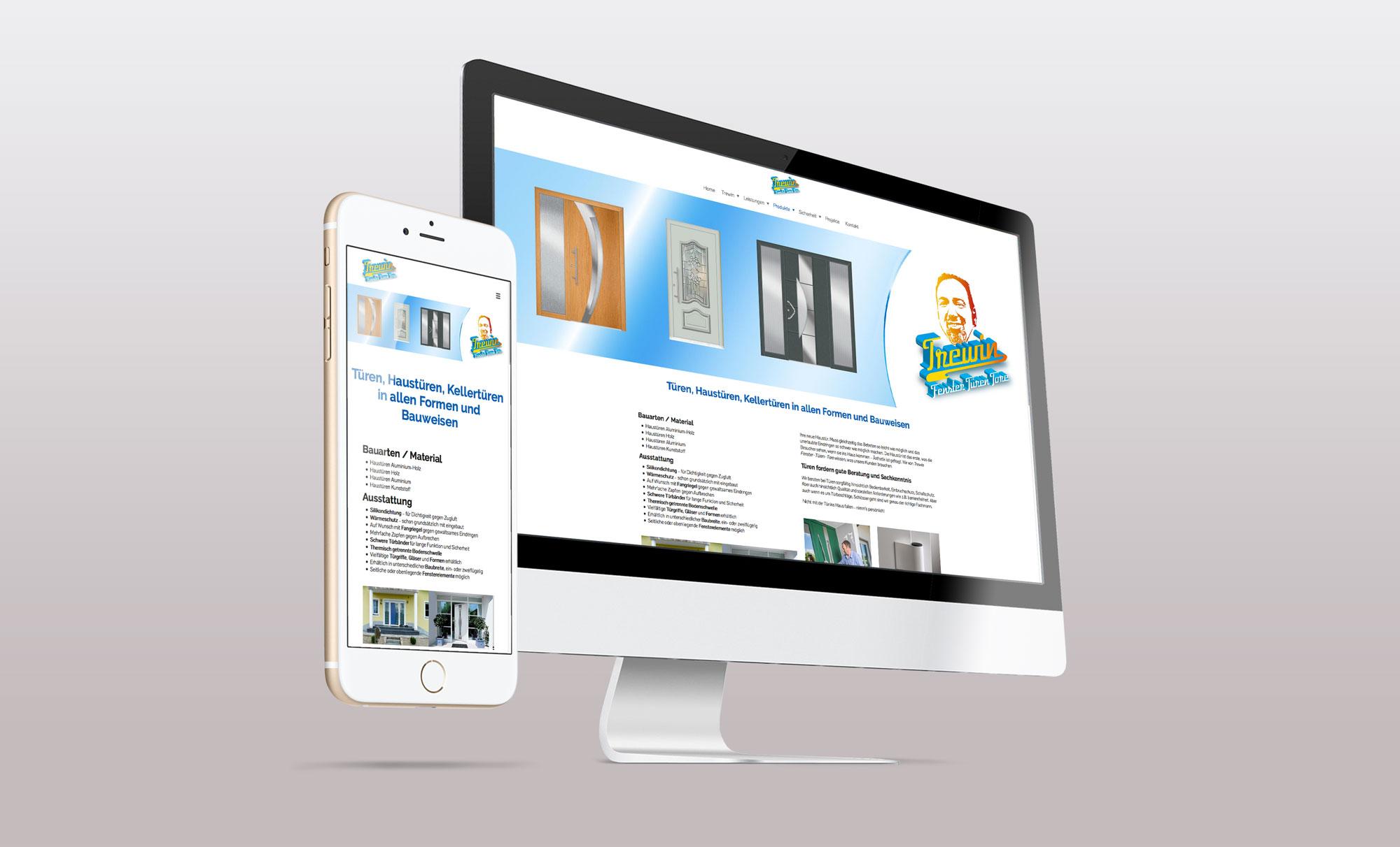 Grafik Design und Werbung Trewin Webdesign