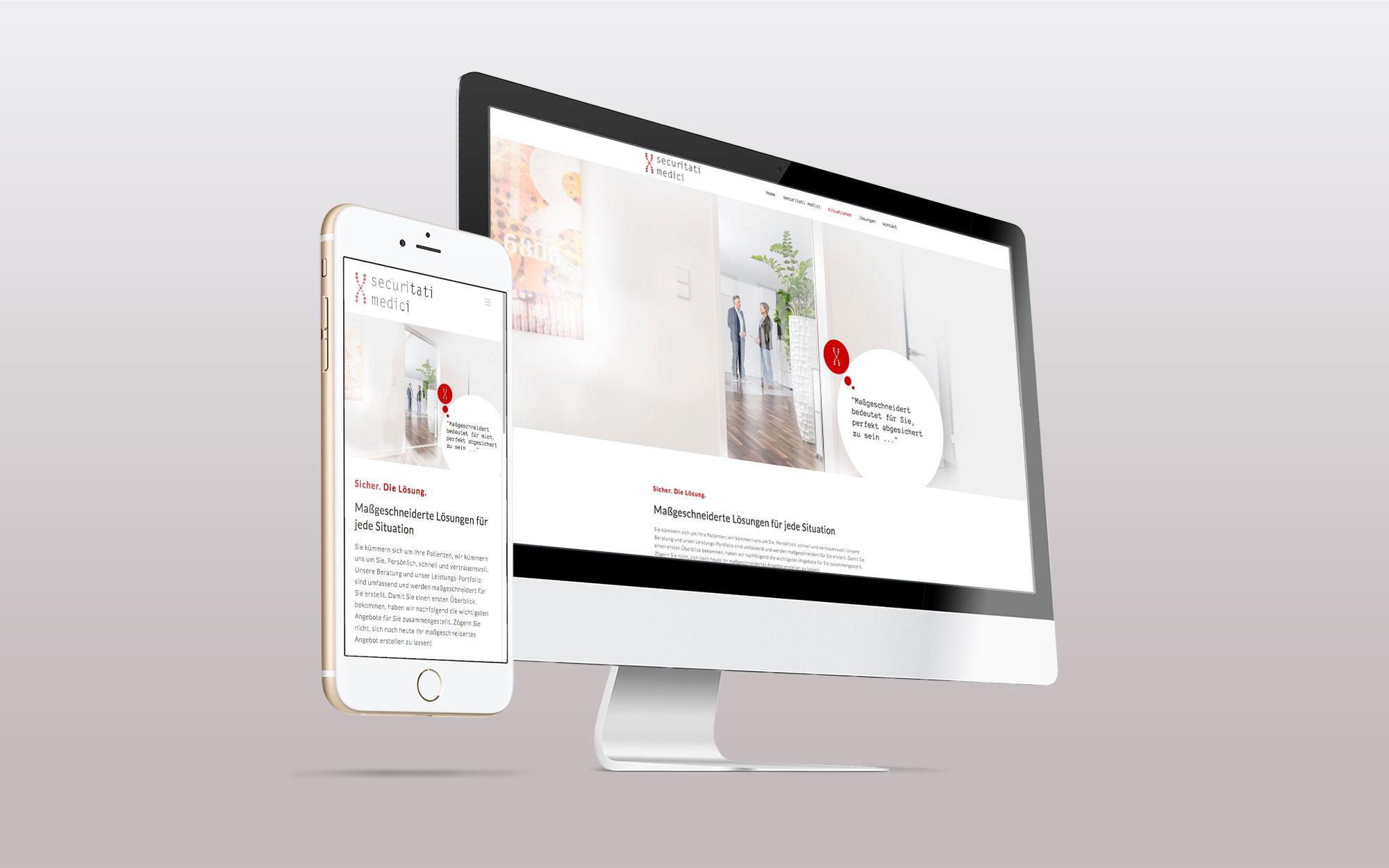 Webdesign securitati medici